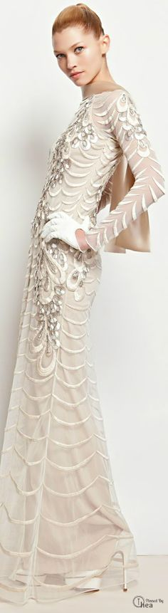 Wedding Dress Temperley London Autumn/Winter 2013 | The House of Beccaria~