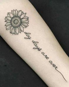 Las 53 Mejores Imágenes De Tatuajes De Girasoles En 2018