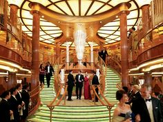 The Most Outrageous Things You Can Do On A Cruise. Old World Opulence: Cunard