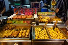 Curry fish balls - Hong Kong Street Food
