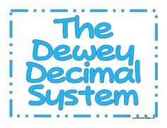 This printable file is a poster series.  Included are: ** The 9 categories of the Dewey Decimal System with subheadings ** 9 children's book genres, with 3 picture examples of each genre. ** Title posters for each series.   You can use the posters for teaching students about the Dewey Decimal system and book Genres as well as posting around your room for a reference.