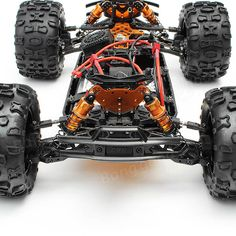DHK 8382 Maximus 1/8 120A 85KM/H 4WD Brushless Monster Truck RC Car Sale - Banggood.com