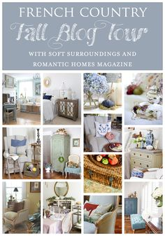 A Fall Home Tour with Romantic Homes