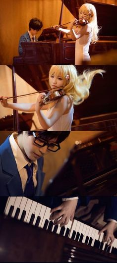 Cosplay Shigatsu wa kimi no uso Anime Cosplay, Epic Cosplay, Amazing Cosplay, All Anime, Anime Manga, Halloween Cosplay, Cosplay Costumes, Miyazono Kaori, Your Lie In April