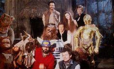 "One big happy ""Star Wars"" family."