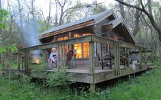 Tiny Retreat in the Woods a Real Treat for Writer/Artist