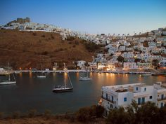 Blue hour at Chora, Some Beautiful Pictures, Beautiful Places, Greek Sea, Places In Greece, Karpathos, Blue Hour, Greek Islands, Homeland, Dream Vacations