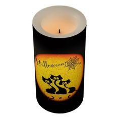 Halloween Flameless Candle - Halloween happyhalloween festival party holiday