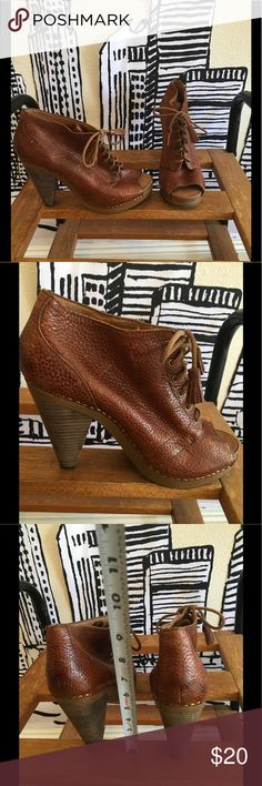 LUCKY BRAND 70s Inspired Booties Feeling Boho Chic? This LUCKY BRAND 70s Inspired Booties are the perfect match! I've worn them a few times, very comfortable interior made of leather. Lucky Brand Shoes Ankle Boots & Booties