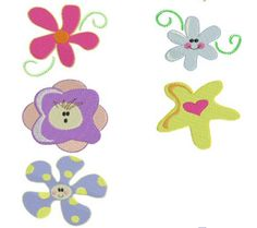 Free Embroidery Designs: Sweet Heart - I Sew Free