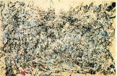 Jackson Pollock - No. 1, 1948, oil on canvas
