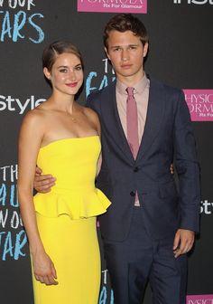 Shailene & Ansel  #tfios premiere