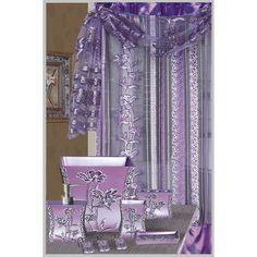 Daniels Bath Paris Decorative Shower Curtain