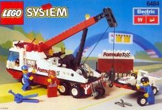 lego+system | LEGO System Formel 1 Pannenhilfe 6484