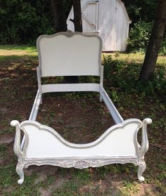 French Twin Bed by antique2chic on Etsy, $425.00