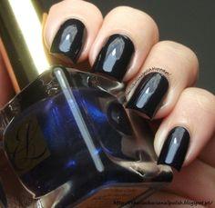 The Clockwise Nail Polish: Estée Lauder Blue Blood