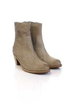 Shabbies Amsterdam 250108 - Korte Laarzen & Boots - Dames - Donelli