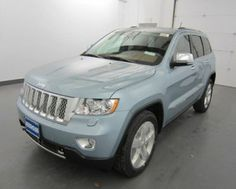 THIS IS MY NEXT CAR.  LOVE THE LIGHT BLUE. 2013 Jeep Grand Cherokee Overland in Blair, NE | New Cars for Sale on EasyAutoSales.com