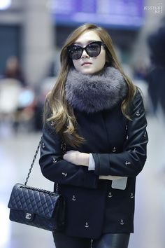 Jessica @ The Airport by Jessture 😍😘❤💕💋 Kpop Fashion, Womens Fashion, Airport Fashion, Celebrities Reading, Ice Princess, Jessica Jung, Airport Style, Snsd, Girls Generation