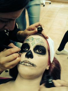 Making of Catrina - Halloween