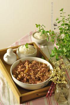 梅菜蒸肉餅【廣東小菜經典】Steamed Minced Pork with Preserved Vegetable