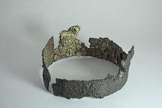 Péter Gálhidy: Korona, 2018, bronze (bronz) Contemporary Sculpture, Bronze, Crown, Jewelry, Corona, Jewlery, Jewerly, Schmuck, Jewels