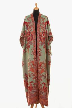 Long bridal robe Long white robe Wedding kimono Long lace bridal robe Kimono robe Maxi robe Bride robe Bridal kimono Bridal gown dressing – – Best Of Likes Share Abaya Fashion, Kimono Fashion, Fashion Dresses, Punk Fashion, Lolita Fashion, Fashion Tips, Mode Boho, Mode Chic, High Fashion