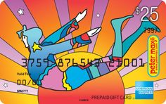 Latest topics started by: pesky pixie  A Peter Max AMEX card!