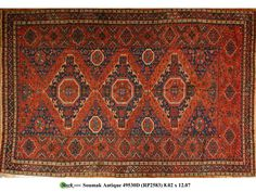49530D - SOUMAK STYLE - Darius Antique Rugs - Stark Carpet