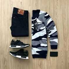 Please rate this outfit below ⤵️ Sweate Swag Outfits Men, Stylish Mens Outfits, Tomboy Outfits, Tomboy Fashion, Dope Outfits, Casual Outfits, Mens Fashion, Fashion Outfits, Hype Clothing