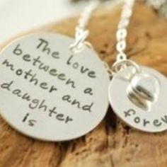 Love between a mother and daughter is forever!
