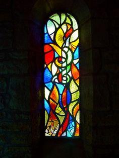 玻璃板 Modern Stained Glass, Stained Glass Panels, Mosaic Glass, Fused Glass, Saunas, Beautiful Images, Mosaics, Diy And Crafts, Original Paintings