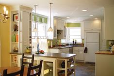 Picture of Glass Flare Kitchen Peninsula Pendant Lamps