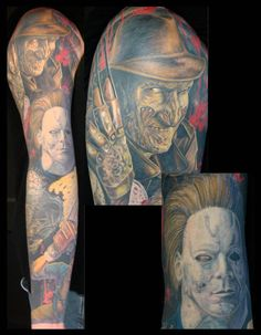 Patrick Delvar tattoo horror