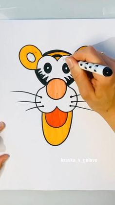 Easy Drawings For Kids, Art Drawings Sketches Simple, Drawing For Kids, Basic Drawing, Hand Art Kids, Art For Kids, Drawing Lessons, Art Lessons, Easy Paper Crafts