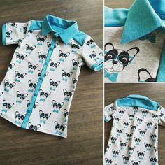 Polohemd uit Mein Lieblingskleider (Stof van Huis van Katoen) Made by Elke