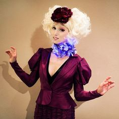 effie trinket.... how would I get my LONG hair like this??