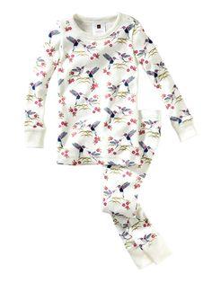 Happy Hummingbird Pajamas by Tea Collection