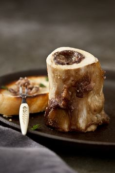 Roasted Bone Marrow  Photography by Chia Chong, Recipe and Styling by Libbie Summers