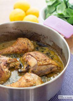 Pollo Limon Espinacas