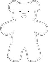 Sample teddy bear template wikihow best 10 easy 10 beginner sewing projects projects are readily available on our web pages check it out and you wont be sorry you did beginn Teddy Bear Outline, Teddy Bear Template, Diy Teddy Bear, Teddy Bear Sewing Pattern, Teddy Bear Crafts, Free Teddy Bear Patterns, Teddy Bear Drawing Easy, Small Teddy Bears, Big Teddy
