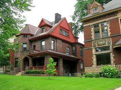 Wonderful old homes..