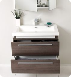Modern Small Bathroom Design With Awesome Floating Vanity - Small Bathroom Design Photos, Small Bathroom Designs With Shower, Modern Bathroom Ideas Photo . Floating Bathroom Vanities, Floating Vanity, Bathroom Sink Vanity, Bathroom Pink, Bathroom Ideas, Oak Bathroom, Kids Vanities, Mirror Vanity, Floor Mirror