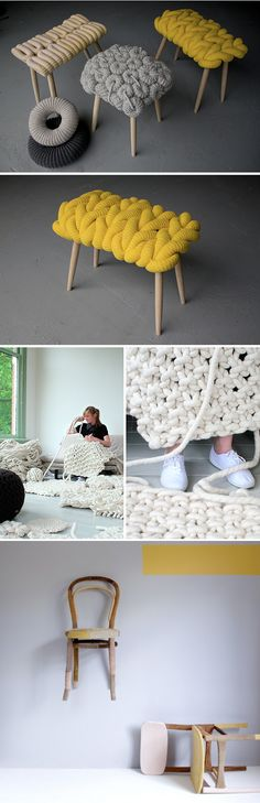 This looks like some funky fast knitting from Scandinavia...