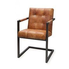 esszimmer stuhl basie cognac konferenzstuhl echt leder. Black Bedroom Furniture Sets. Home Design Ideas