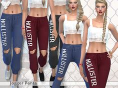 Pinkzombiecupcakes' PZC_Realistic Jogger Pants – Sims 4 Updates -♦- Sims 4 Finds & Sims 4 Must Haves -♦- Free Sims 4 Downloads