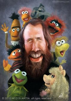 Jim Henson - Creator of The Muppets, Sesame Street, Fraggle Rock, etc.