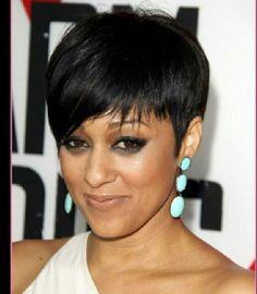 pixie cut wigs human hair for white women - Bing images Short Sassy Hair, Cute Hairstyles For Short Hair, Short Hair Cuts, Curly Hair Styles, Natural Hair Styles, Women Pixie Cut, Pixie Cut Wig, Pixie Haircut, Pixie Cuts