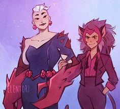 My jaw literally dropped when I saw Scorpia in that dress, she can step on me. This whole show was amazing though? Steven Universe, Fanart, She Ra Princess Of Power, Fandoms, Animation, I Saw, Gay Pride, Movies And Tv Shows, Disney
