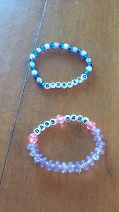 Basshead & Bass Babe Kandi Bracelets Source by Rave Bracelets, Pony Bead Bracelets, Festival Bracelets, Candy Bracelet, Pony Beads, Friendship Bracelets, Rave Candy, Kandi Cuff, Rave Gear